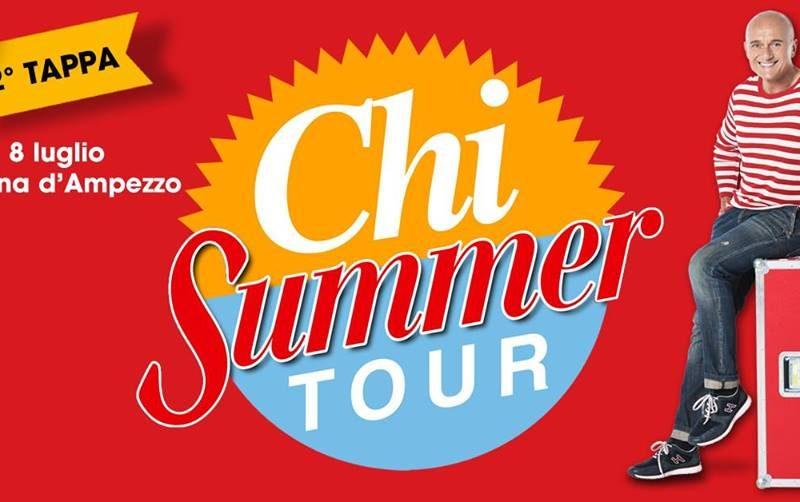 """Il """"Chi Summer Tour"""" sbarca a Cortina"""