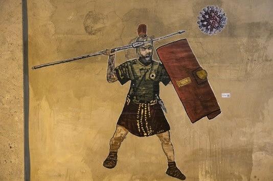 Il Gladiatore ha sconfitto il Covid