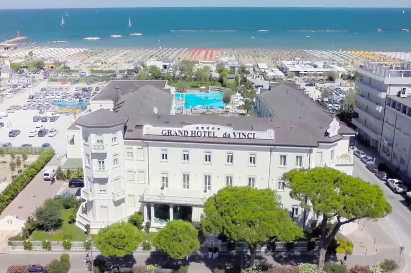 Arrivi e partenze al Grand Hotel Da Vinci